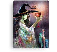 A toast to the Great Pumpkin Canvas Print