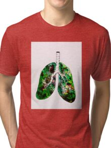Lungs of the Planet Tri-blend T-Shirt