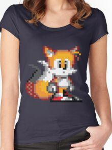 """Miles """"Tails"""" Prower - Sprite Women's Fitted Scoop T-Shirt"""