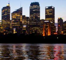 Sydney at Sunset Sticker
