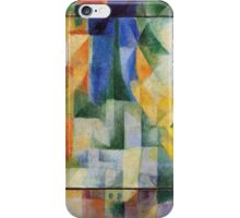 Delaunay - Simultaneous Windows on the City iPhone Case/Skin