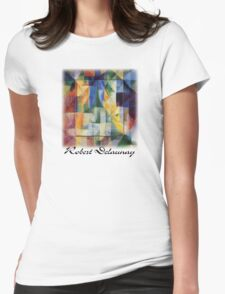 Delaunay - Simultaneous Windows on the City Womens Fitted T-Shirt