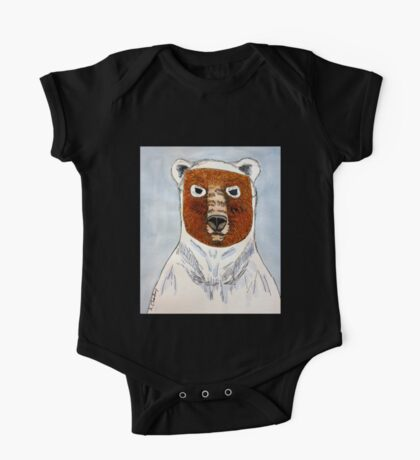 The Age of the Pizzly (or Grolar Bear) One Piece - Short Sleeve