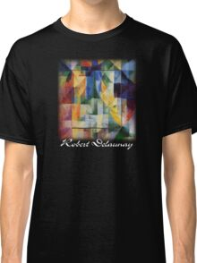 Delaunay - Simultaneous Windows on the City Classic T-Shirt