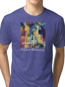 Delaunay - Simultaneous Windows on the City Tri-blend T-Shirt