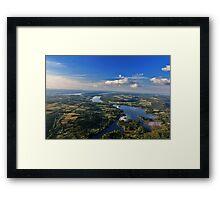 Finger Lakes, New York Framed Print