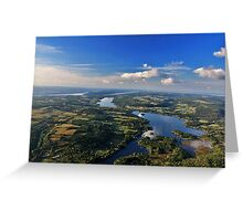 Finger Lakes, New York Greeting Card