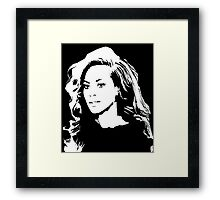 Be Yoncé Framed Print