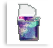 Galaxy Snack Pack - Space in a Cup 1 Canvas Print