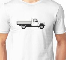A Graphical Interpretation of the Defender 130 Single Cab Dropside Tipper Unisex T-Shirt