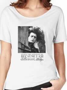 EDWARD SCISSORHANDS Women's Relaxed Fit T-Shirt