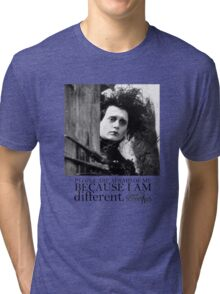 EDWARD SCISSORHANDS Tri-blend T-Shirt