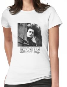 EDWARD SCISSORHANDS Womens Fitted T-Shirt
