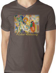 Delaunay - The Great Portuguese Mens V-Neck T-Shirt