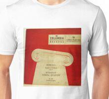 Debussy, Budapest String Quartet, circa 1949 album cover Unisex T-Shirt