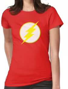 The Flash Logo Minimalist Womens Fitted T-Shirt