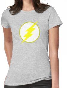 The Flash Logo Minimalist Womens Fitted T-Shirt
