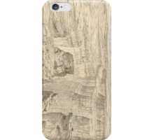 Vintage Pictorial Map of The Grand Canyon (1895)  iPhone Case/Skin