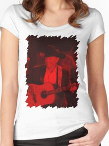 George Strait - Celebrity Women's Fitted Scoop T-Shirt