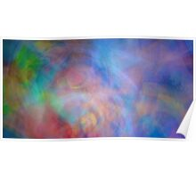 Voodoo Dreams Kinetic Abstract Poster