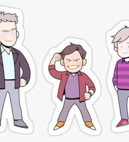 Tiny Clarkson, Hammond & May Sticker