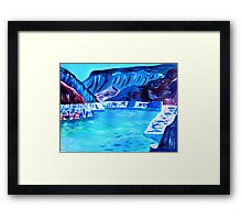 LAKE MEAD NEVADA USA Framed Print