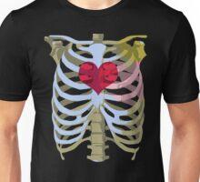 Skeleton Heart Unisex T-Shirt