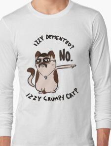 Izzy Demented Cat 2 Long Sleeve T-Shirt