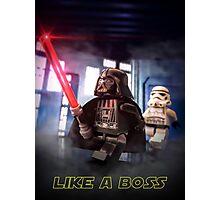 Darth Vader: Like a boss Photographic Print