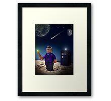 Lego Doctor Who Framed Print