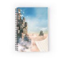 Writers Fantasy - Morning Light Spiral Notebook