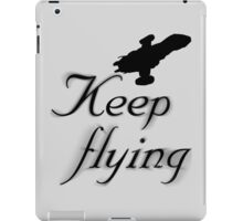 Keep Flying iPad Case/Skin
