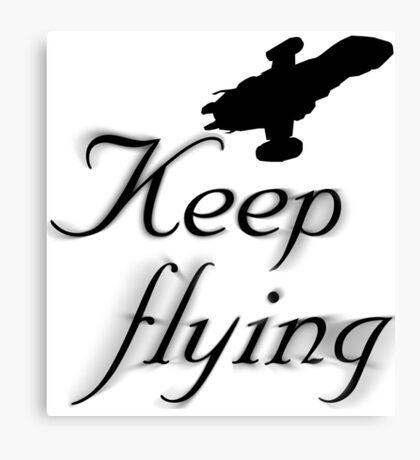 Keep Flying Canvas Print