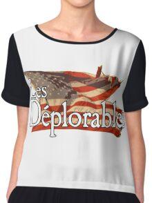 Les Deplorables Chiffon Top