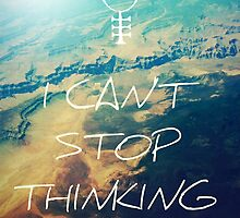I Can't Stop Thinking Big Lyrics by pandartabby