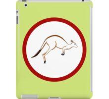 Colour Me Kangaroo iPad Case/Skin