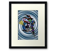 THREE WITCHES Framed Print