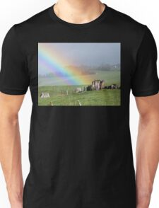 I Know Where The Pot Of Gold Is! - Rainbow NZ Unisex T-Shirt
