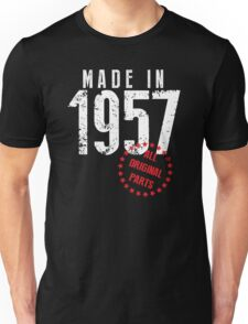 Made In 1957, All Original Parts Unisex T-Shirt