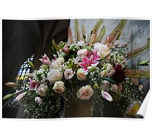 Uplifting Bouquet of Flowers  Poster
