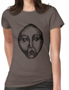 Portrait III Womens Fitted T-Shirt