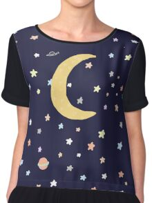 Welcome to space Chiffon Top