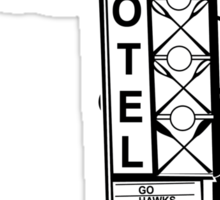 A-1 Motel Sticker