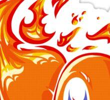 Ball of Fire Sticker