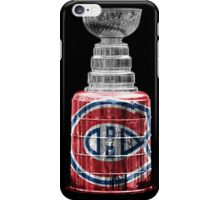 Stanley Cup Montreal iPhone Case/Skin