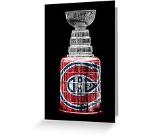 Stanley Cup Montreal Greeting Card