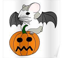 Hamster Bat  Poster