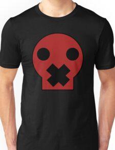 Taped Skull Cartoon Unisex T-Shirt
