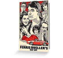 Save Ferris! Greeting Card