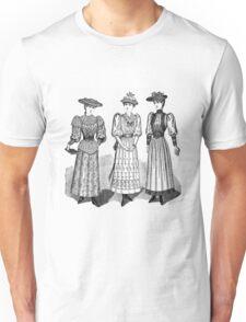 Victorian Ladies Unisex T-Shirt